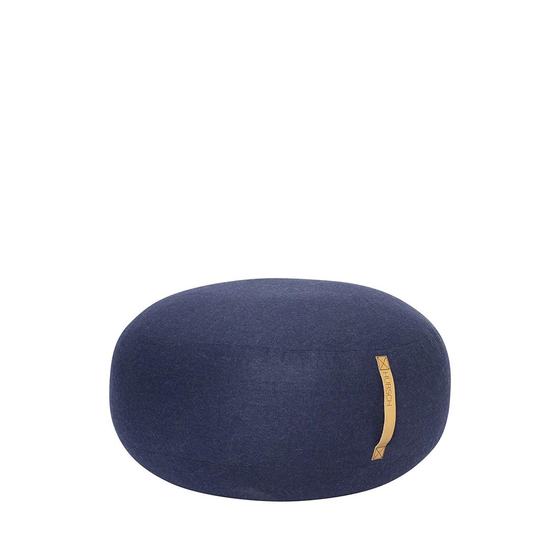 Тапицирана табуретка, синя 700807