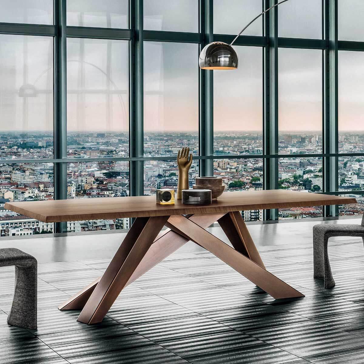 Трапезна маса Big Table от Bonaldo, Италия