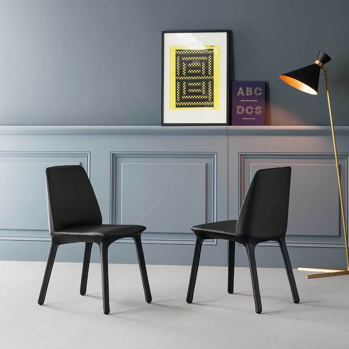 Трапезен стол Flute от Bonaldo, Италия