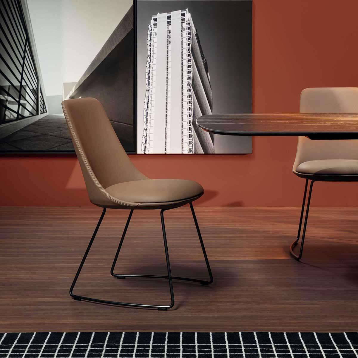 Трапезен стол Itala Si от Bonaldo, Италия