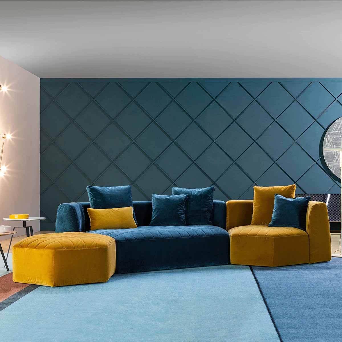 Ъглов диван Panorama от Bonaldo, Италия