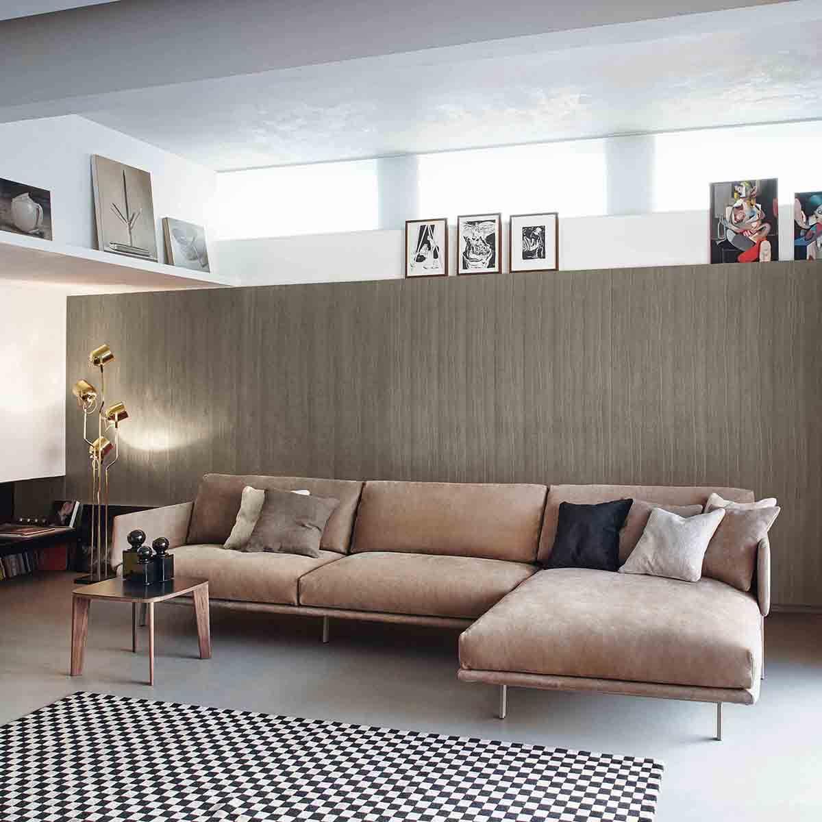 Ъглов диван Structure II от Bonaldo, Италия