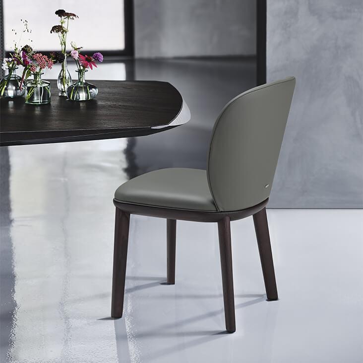 Трапезен стол Chris от Cattelan, Италия