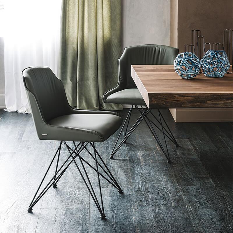 Трапезен стол Flaminia от Cattelan, Италия
