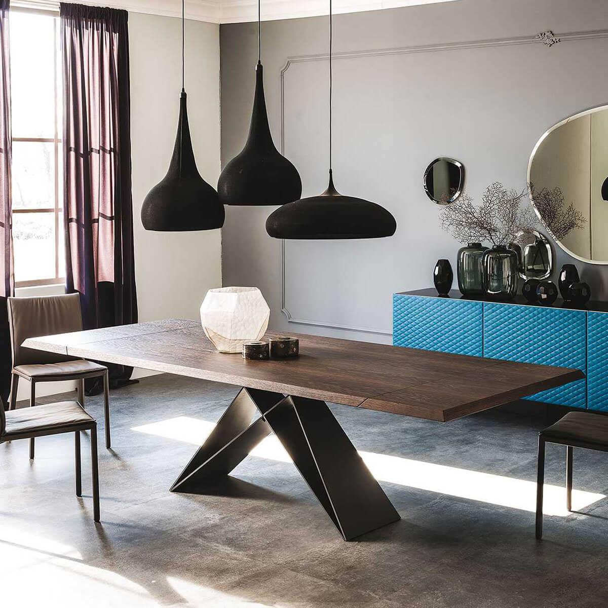 Трапезна маса Premier Wood Drive от Cattelan, Италия