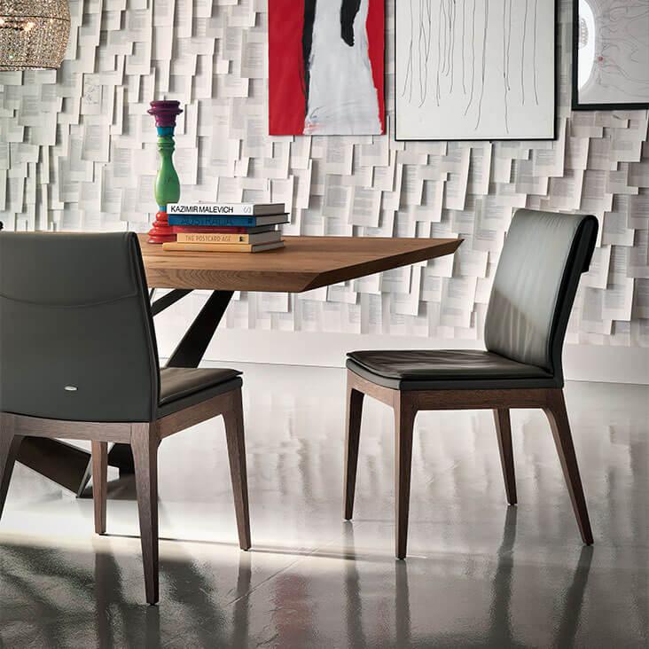 Трапезен стол Tosca от Cattelan, Италия
