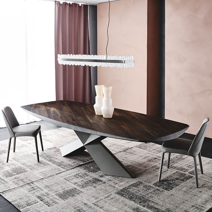 Трапезна маса Tyron Wood от Cattelan, Италия