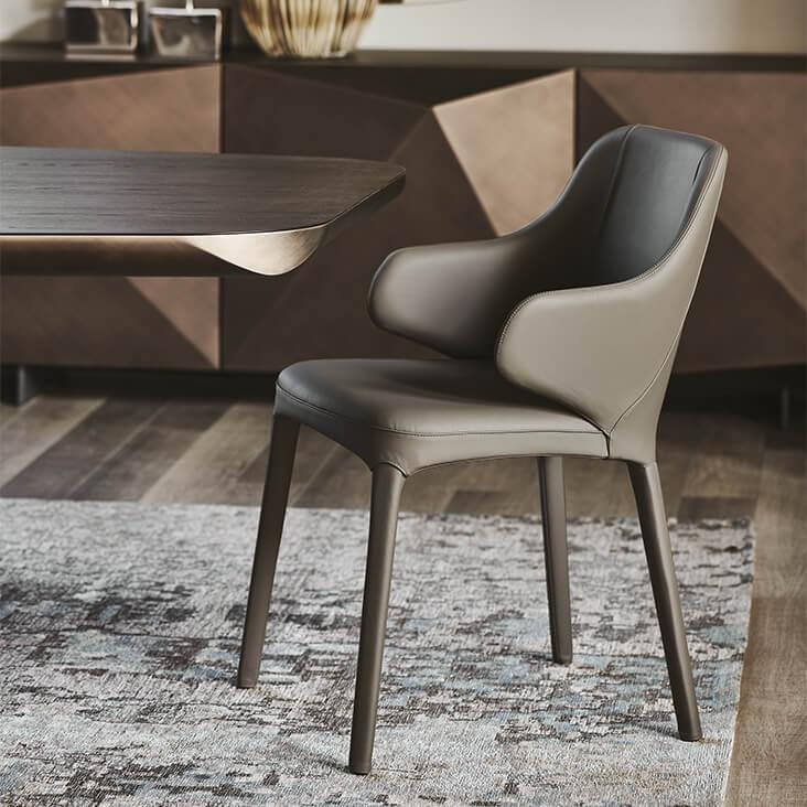 Трапезен стол Wanda от Cattelan, Италия