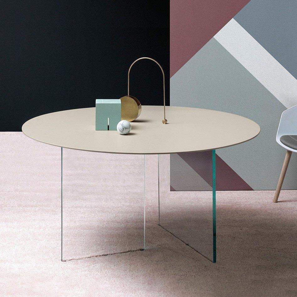 Трапезна маса Round Top Manhattan, от Devina Nais - Италия