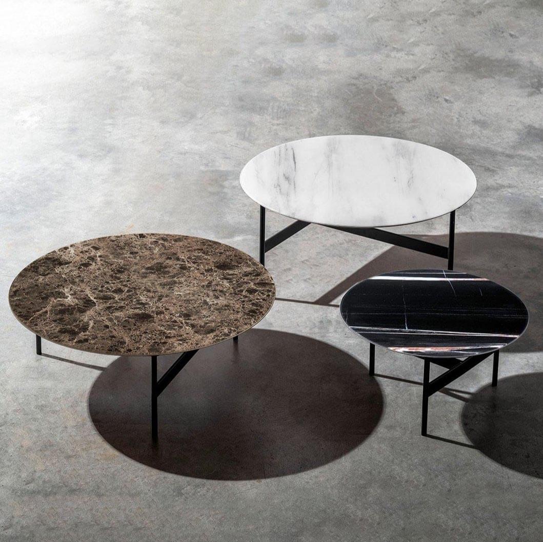 Кръгла маса за кафе Tetris, от Devina Nais - Италия