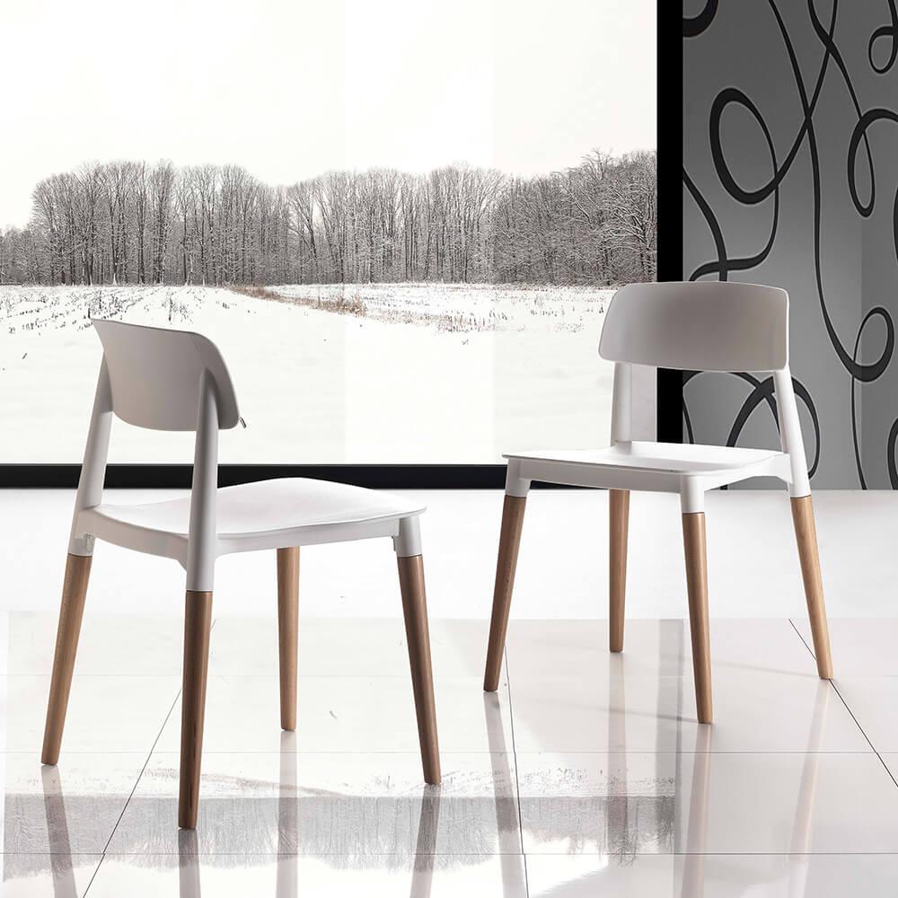 Трапезен стол Artika от La Seggiola, Италия