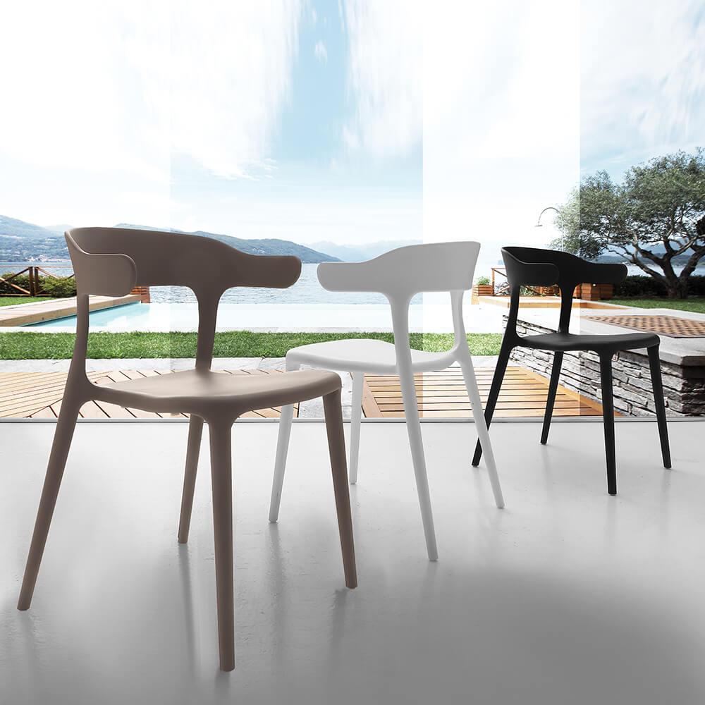 Трапезен стол Brera от La Seggiola, Италия