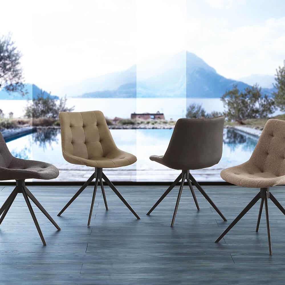 Трапезен стол Carnaby от La Seggiola, Италия