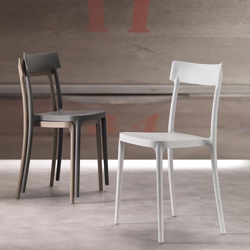 Трапезен стол Corsocomo от La Seggiola, Италия