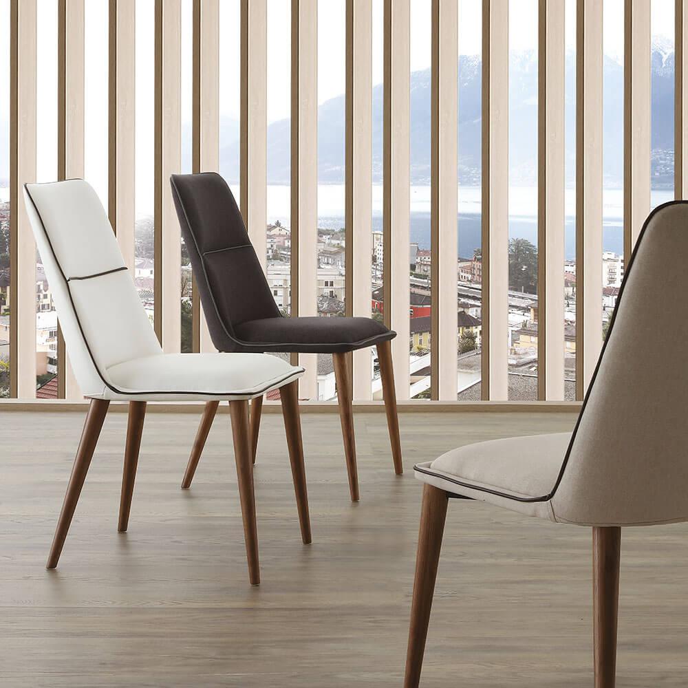 Трапезен стол Diva от La Seggiola, Италия