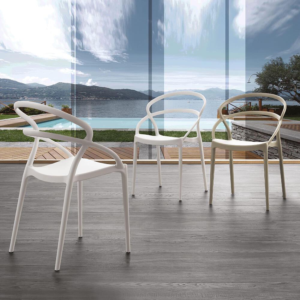 Трапезен стол Pilar от La Seggiola, Италия