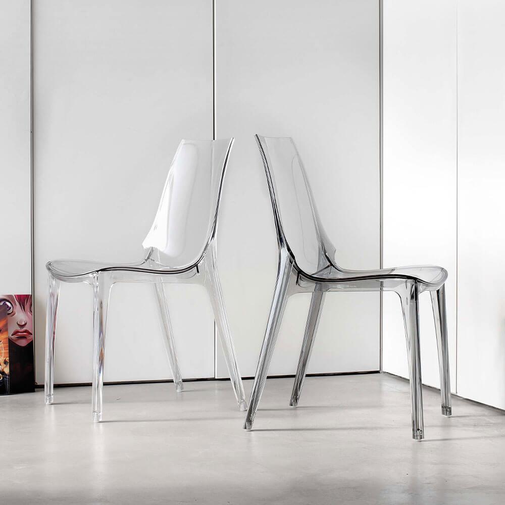 Трапезен стол Valery-S от La Seggiola, Италия