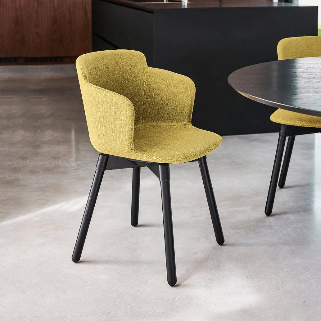 Трапезен стол Calla P L_C TS от MIDJ, Италия