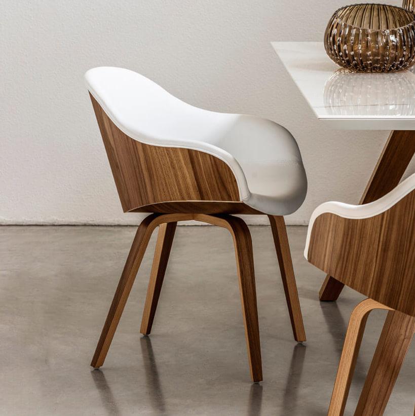 Трапезен стол Danny PB L TS от MIDJ, Италия