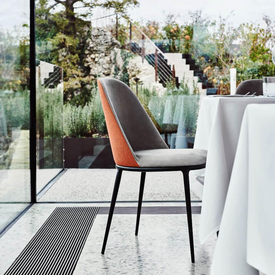 Трапезен стол S1940ST LEA S M TS от MIDJ, Италия