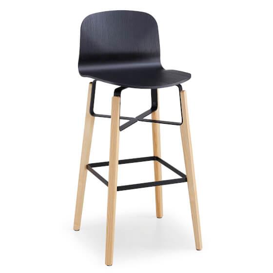 Бар стол Liu H65/H75 ML LG от MIDJ, Италия