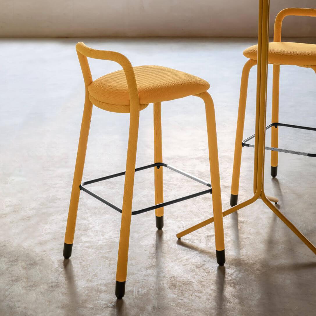 Бар стол Pippi H65/H75 R_TS от MIDJ, Италия