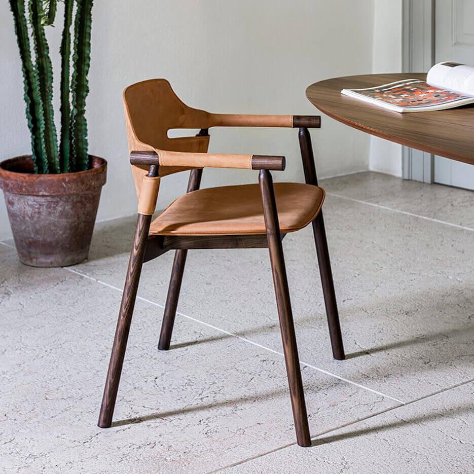 Трапезен стол Suite P L CU от MIDJ, Италия