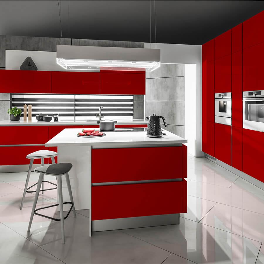 Дизайнерска кухня Oktawia X Red