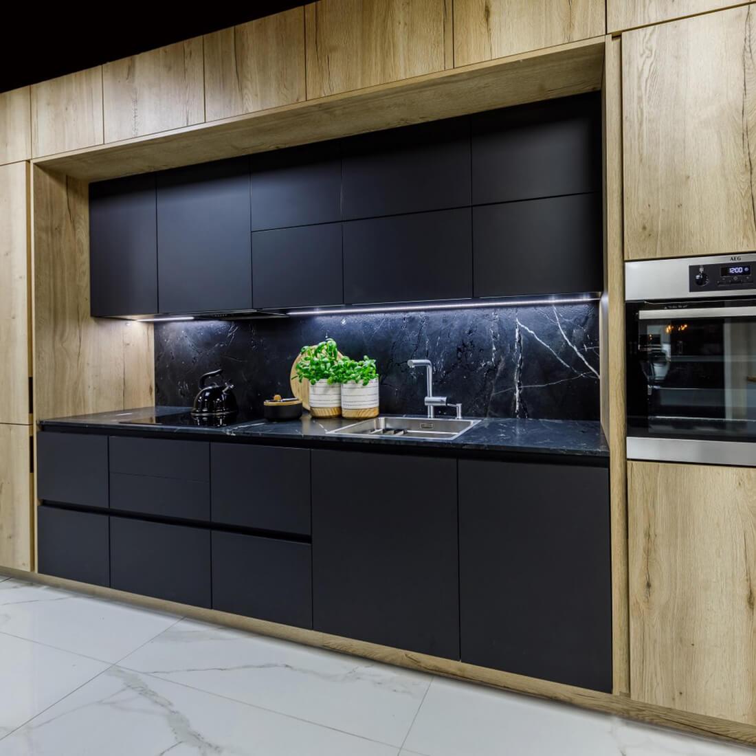 Модерна кухня Penelopa Halifax