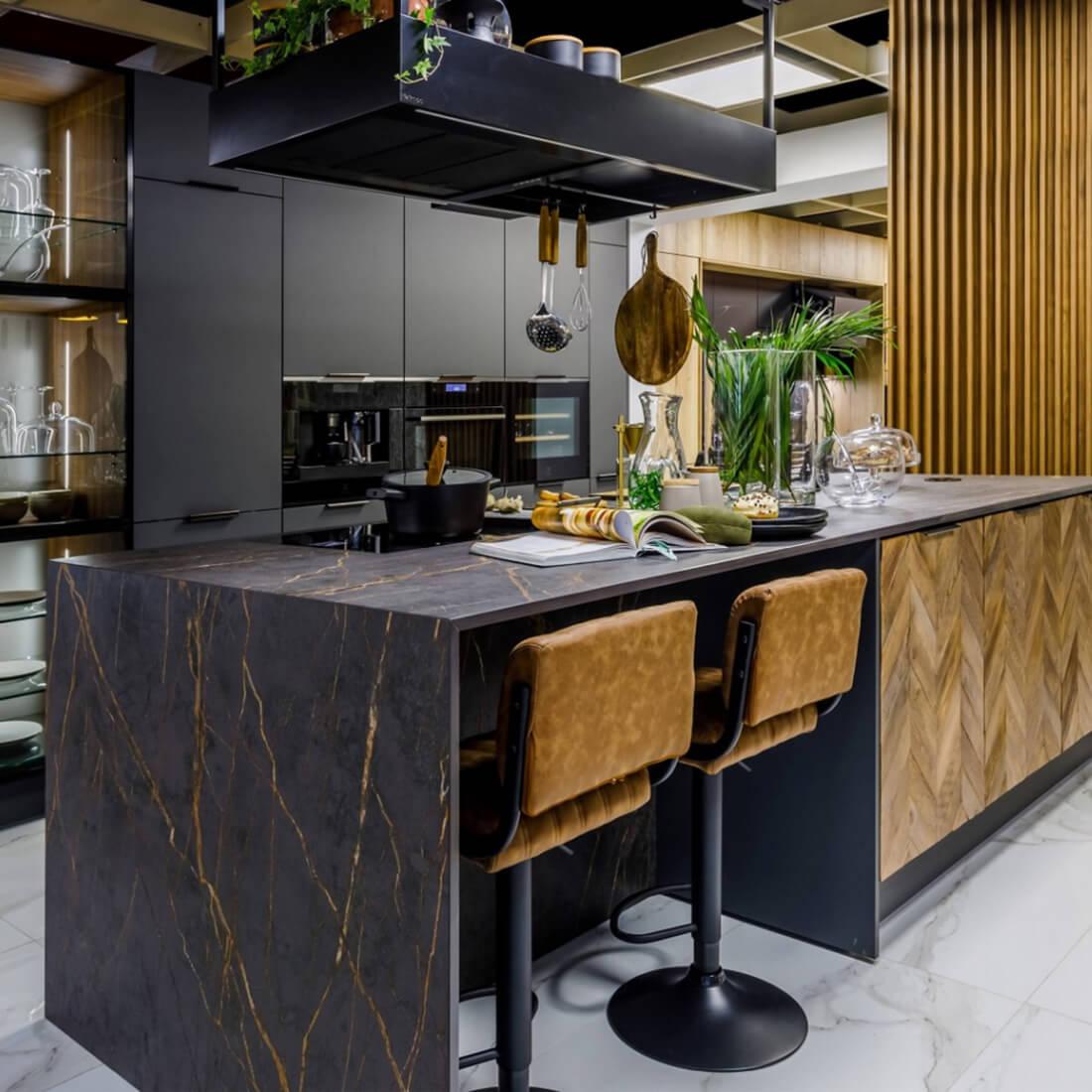 Дизайнерска кухня Spina