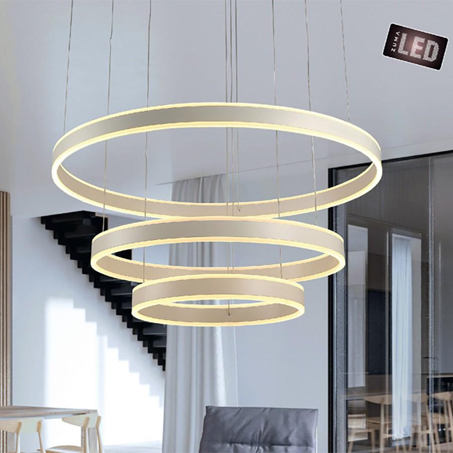Висяща лампа Circle, тройна