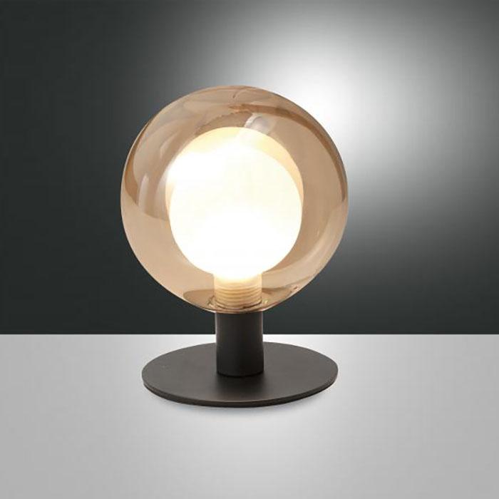 Настолна лампа Teramo, Кехлибар