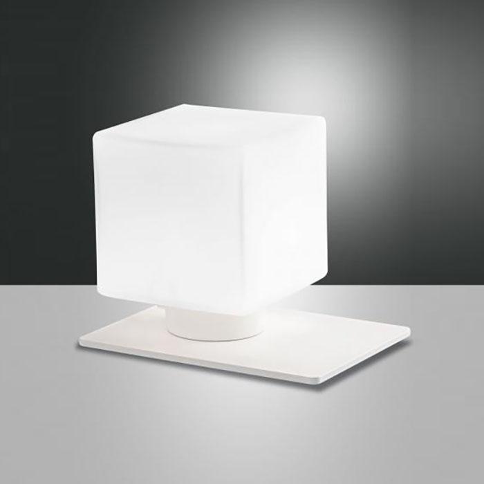 Настолна лампа Zara, Бяла