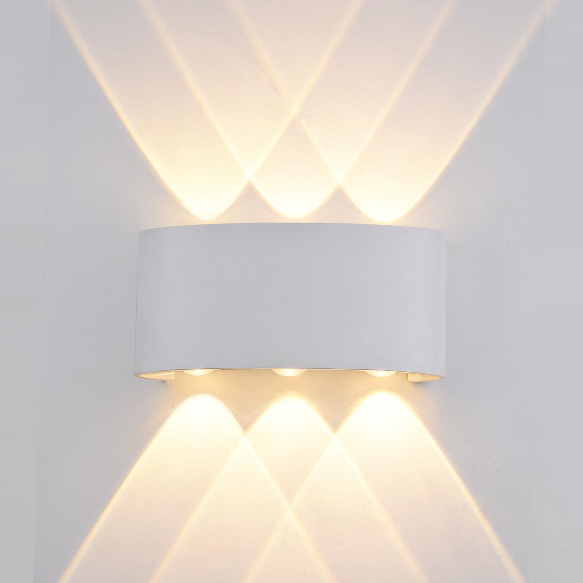 Стенна лампа Ortelo, бяла