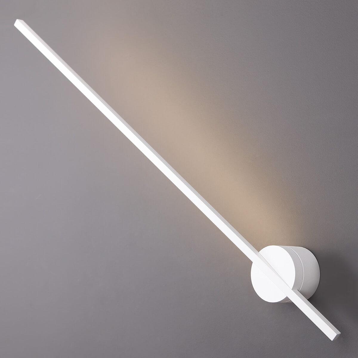 Стенна лампа Spider, бяла с IP44