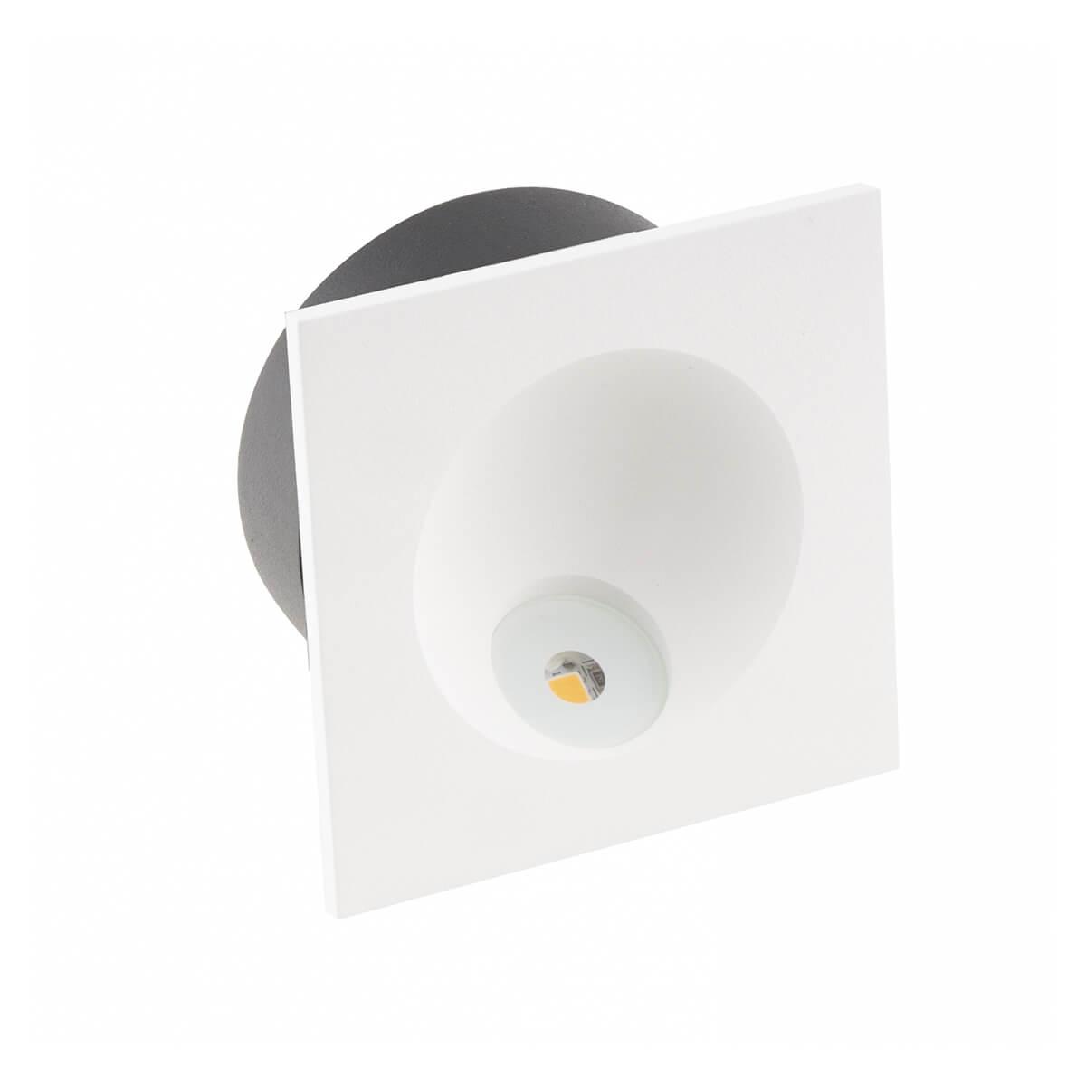 Стенна лампа Time, квадратна с IP54