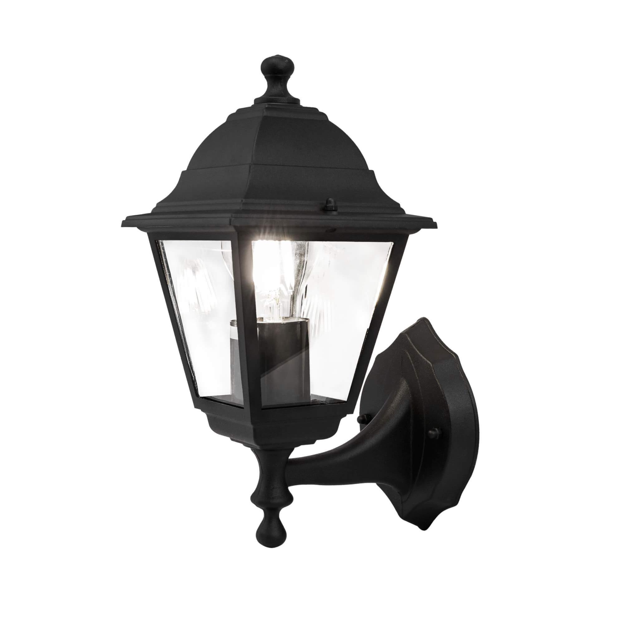 Стенна лампа Abbey Road, черно II, с IP44