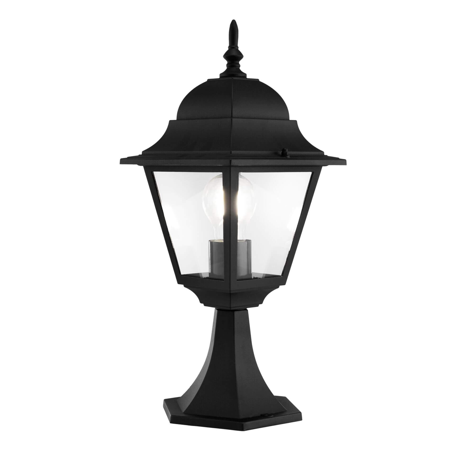 Градинска лампа Abbey Road, черно II, с IP44