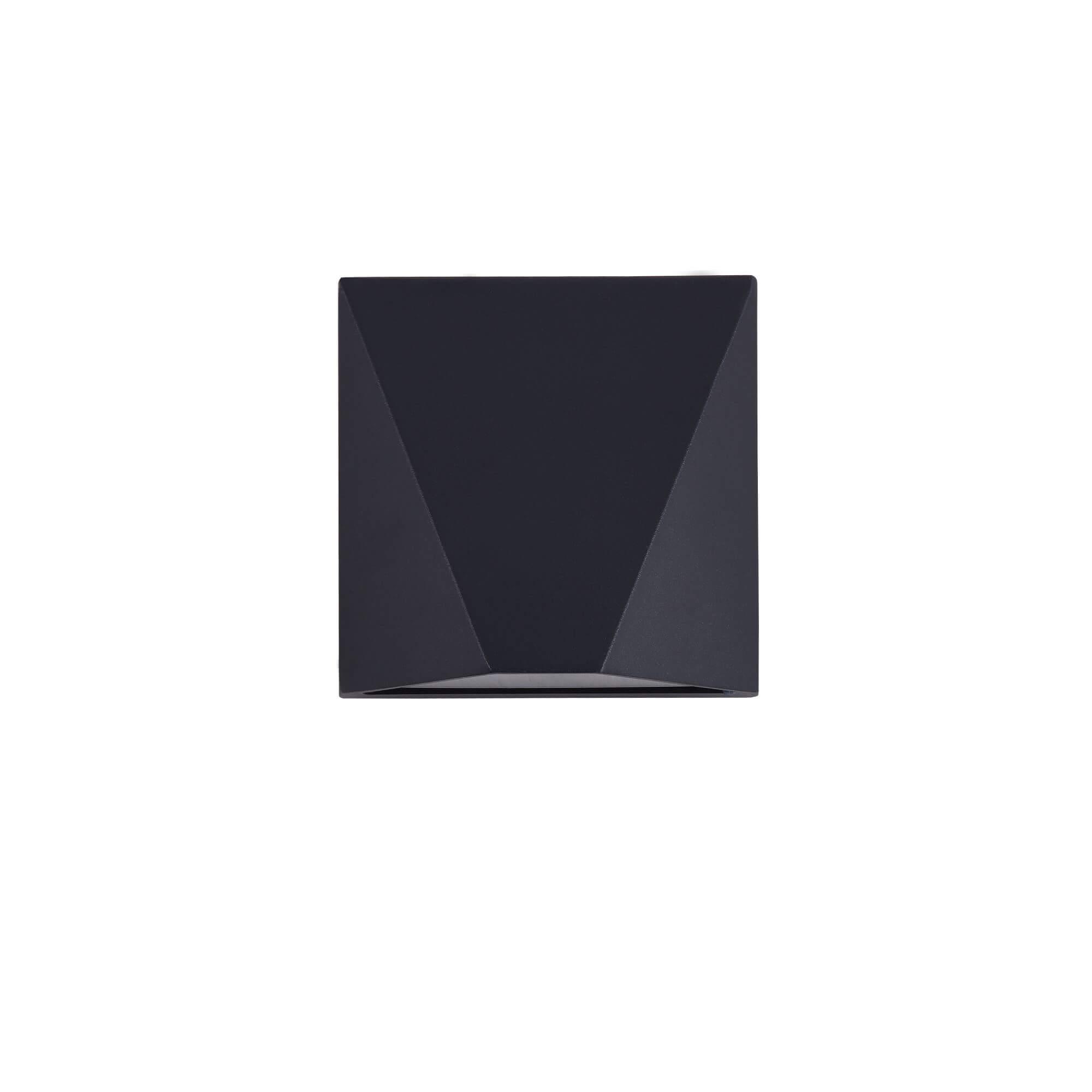 Стенна лампа Beekman, черно, с IP54