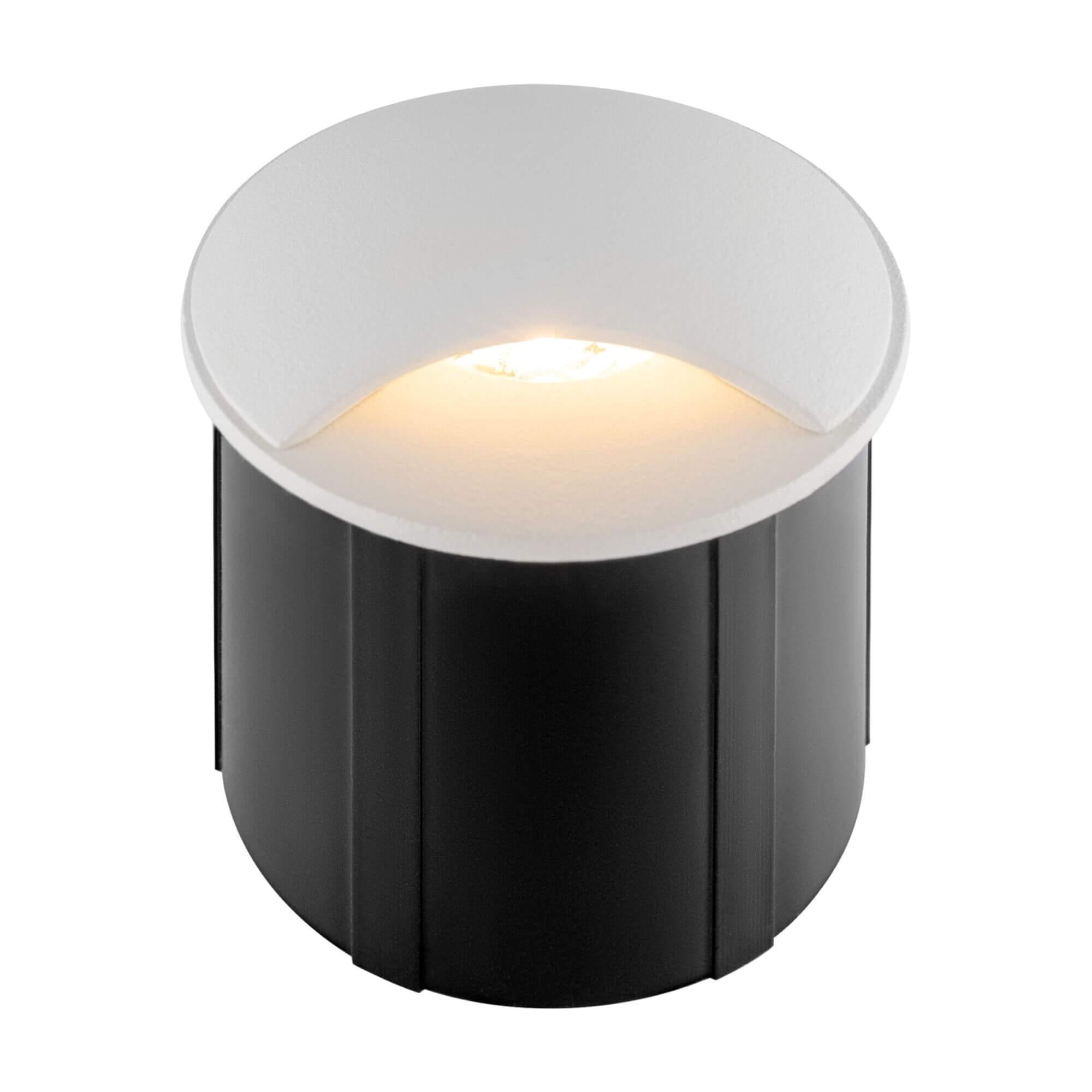 Спот лампа Biscotti, бяло, с IP65