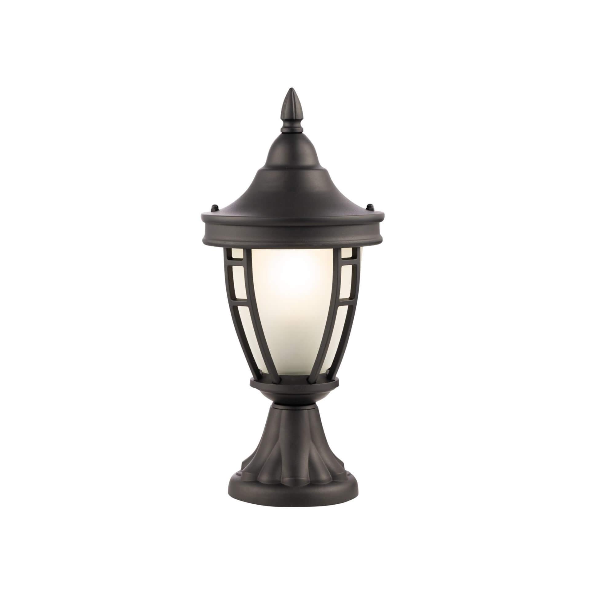 Градинска лампа Rivoli, черно II, с IP44