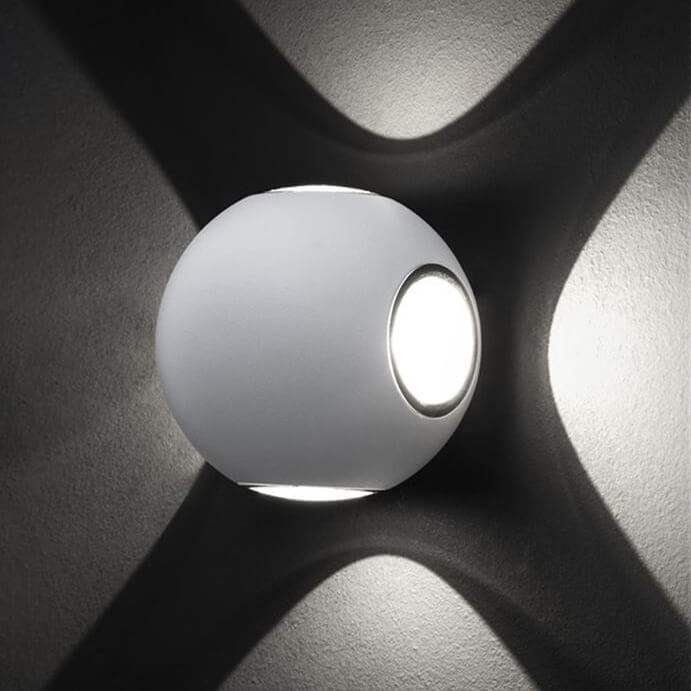 Стенна лампа Como, с IP54, код 852436
