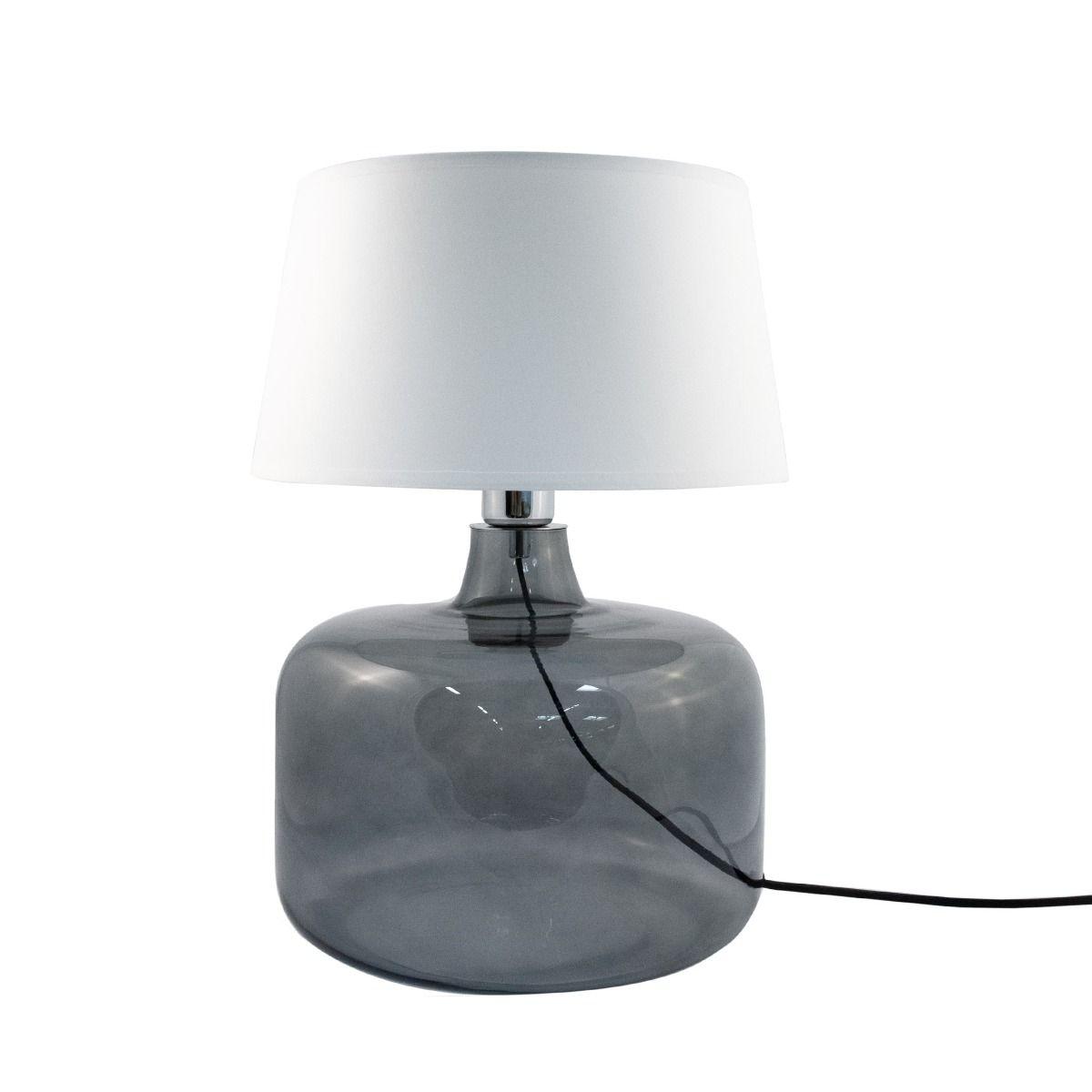 Настолна лампа Batumi, бяла