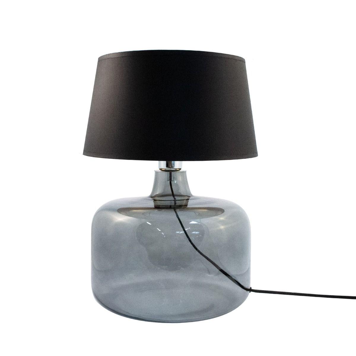 Настолна лампа Batumi, черно и златно
