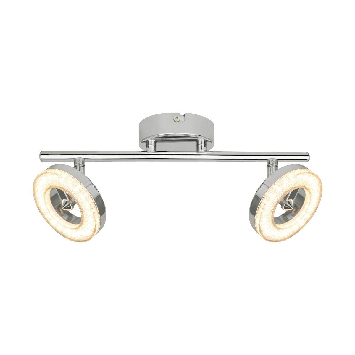 Таванна лампа Driso, двойна