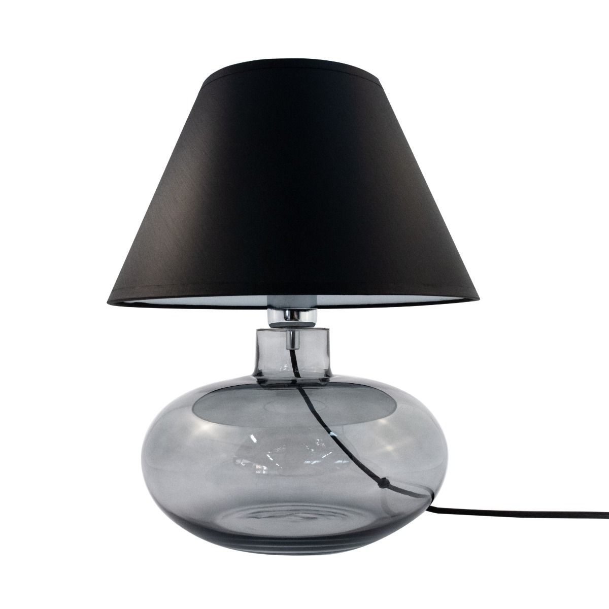 Настолна лампа Mersin, черна