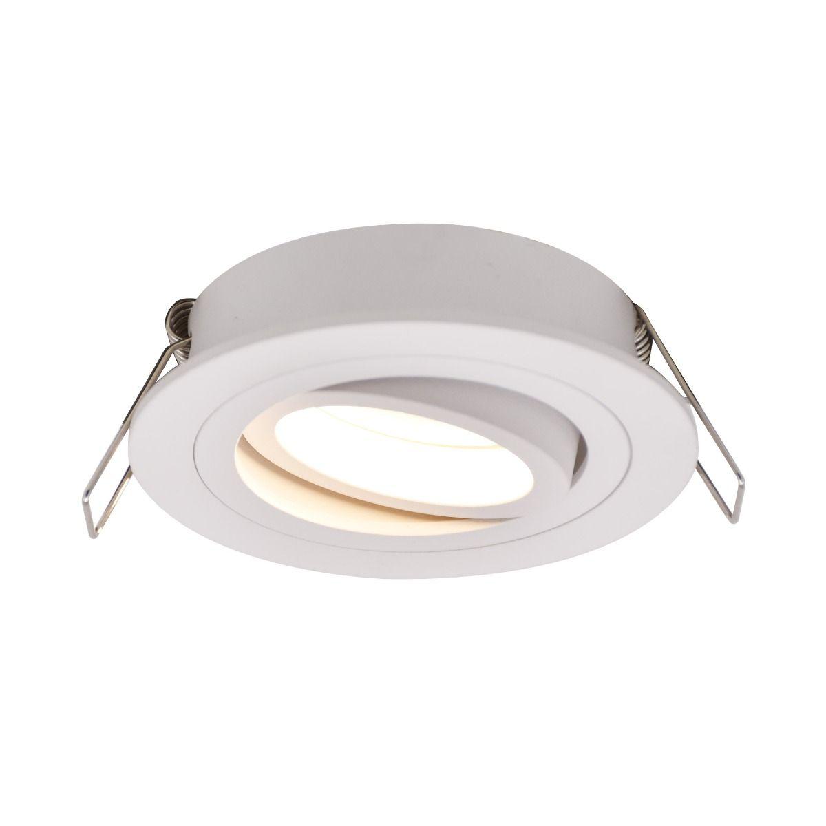 Спот лампа Rondoo, бяла