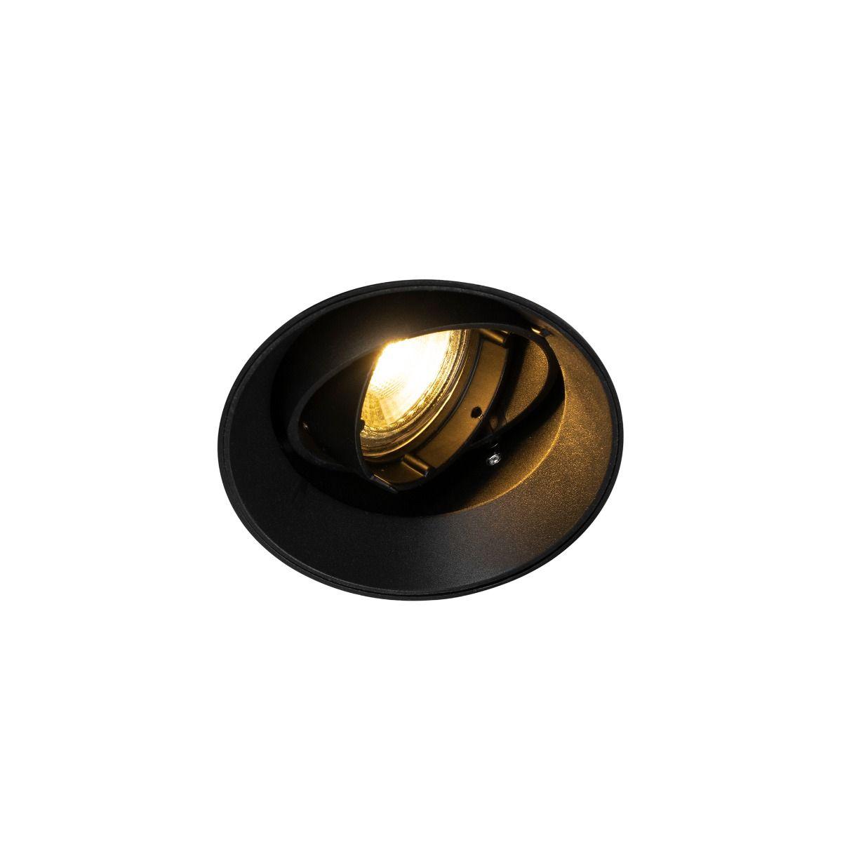 Спот лампа Oneon, черна, малка
