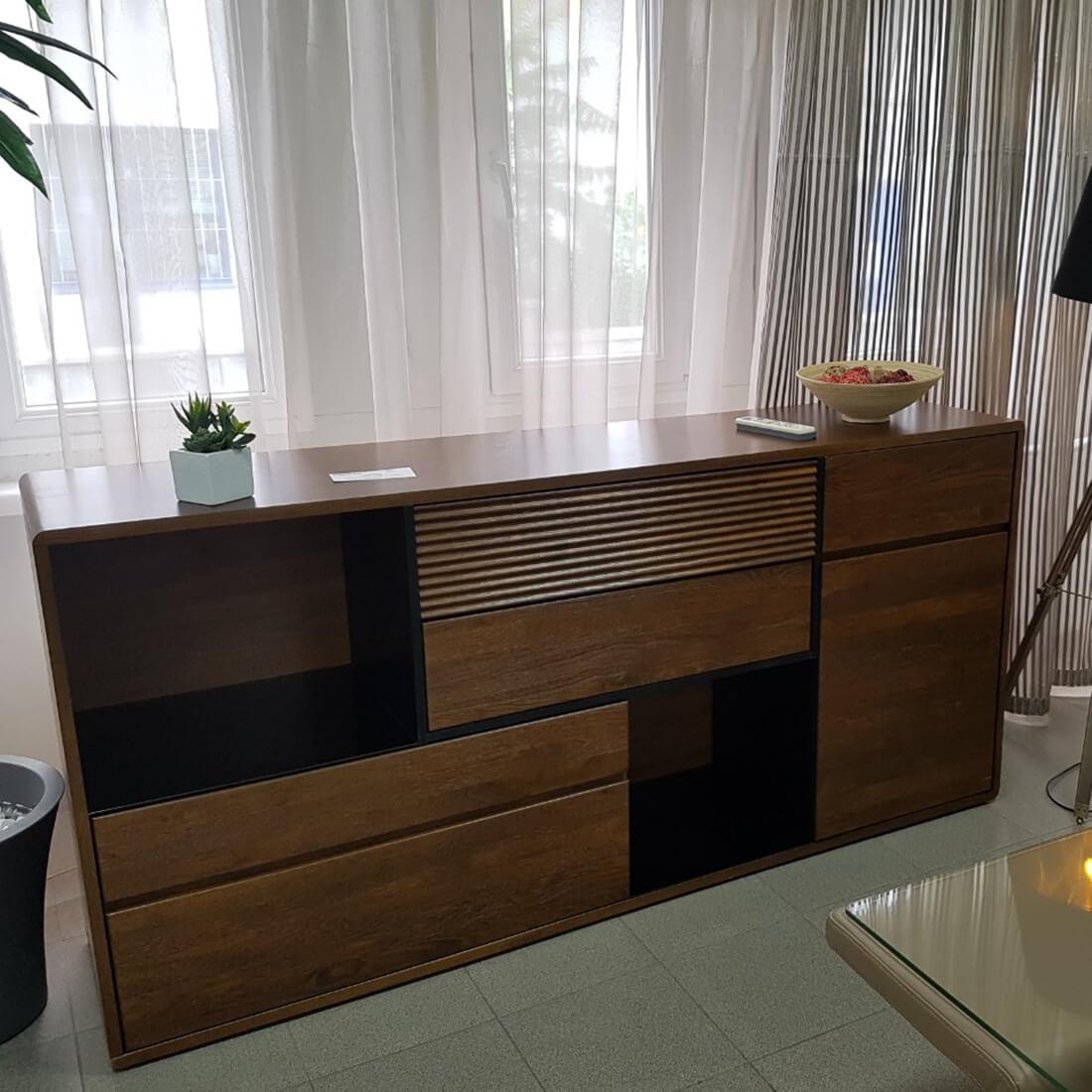 Комплект скрин и полица, серия Belis - мостра