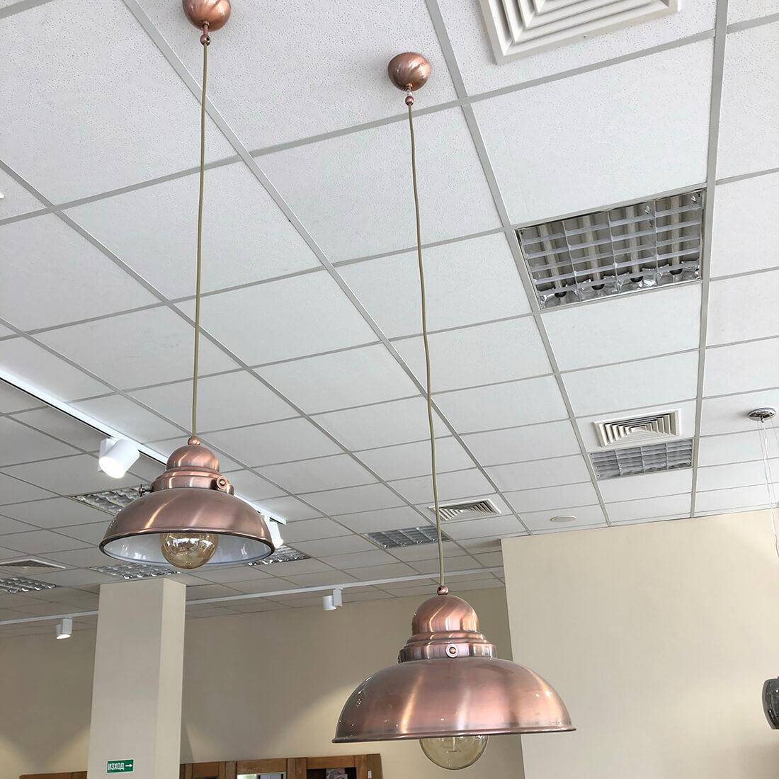 Висящи лампи Zon, комплект 2 бр. - мостра